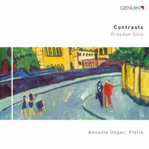آلبوم موسیقی Contrasts Dresden Solo اثری از آنت اونگر (Annette Unger)