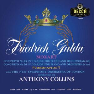 آلبوم موسیقی Mozart Piano Concerto اثری از آنتونی کالینز (Anthony Collins)