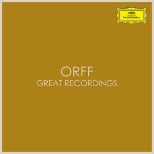 آلبوم موسیقی Great Recordings اثری از کارل ارف (Carl Orff)