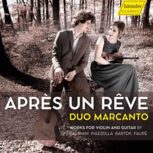 آلبوم موسیقی Après un rêve اثری از دو مارکانتو (Duo Marcanto)