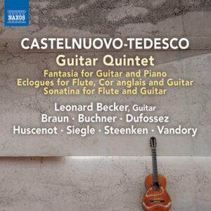 آلبوم موسیقی Castelnuovo Tedesco Chamber Works اثری از لئونارد بکر (Leonard Becker)