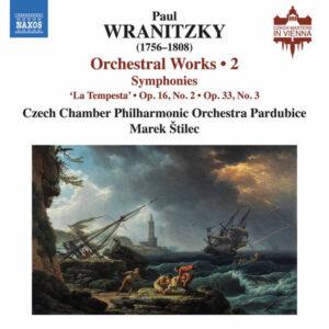 آلبوم موسیقی Wranitzky Orchestral Works Vol. 2 اثری از مارک استیلیک (Marek Stilec)