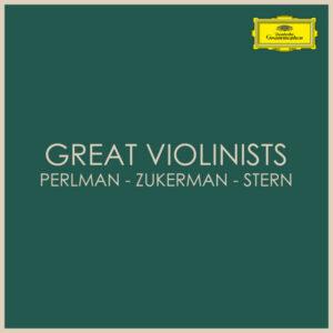 آلبوم موسیقی Great Violinists Perlman Zukerman Stern اثری از هنرمندان مختلف