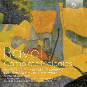 آلبوم موسیقی Ravel Complete Mélodies اثری از مارکو مومی (Marco Momi)