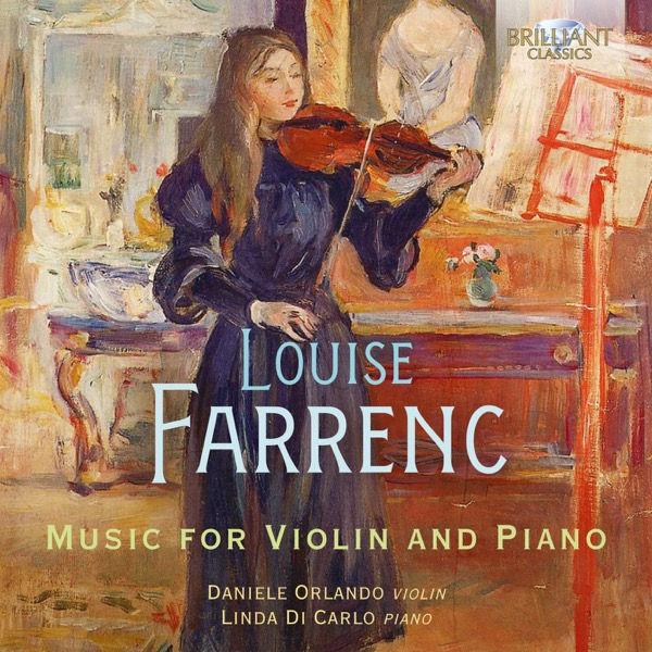 آلبوم موسیقی Farrenc Music for Violin & Piano اثری از اورلاندو دانیله (Orlando Daniele)