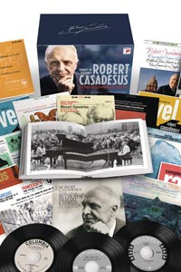 رابرت کاسادسوس مجموعه کامل آلبوم های کلمبیا از لیبل سون کلاسیکال