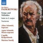 Paderewski Songs and Mélodies Suite in G Major