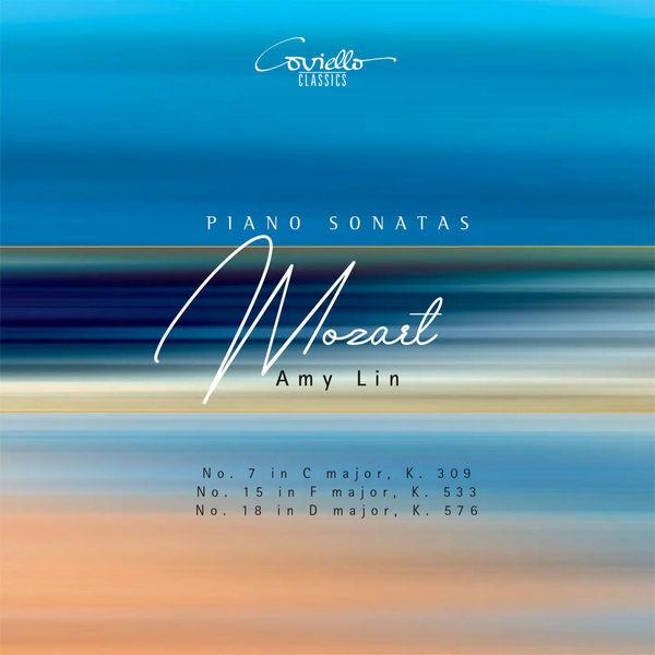 آلبوم موسیقی Mozart Piano Sonatas Nos. 7, 15 & 18 اثری از امی لین (Amy Lin)