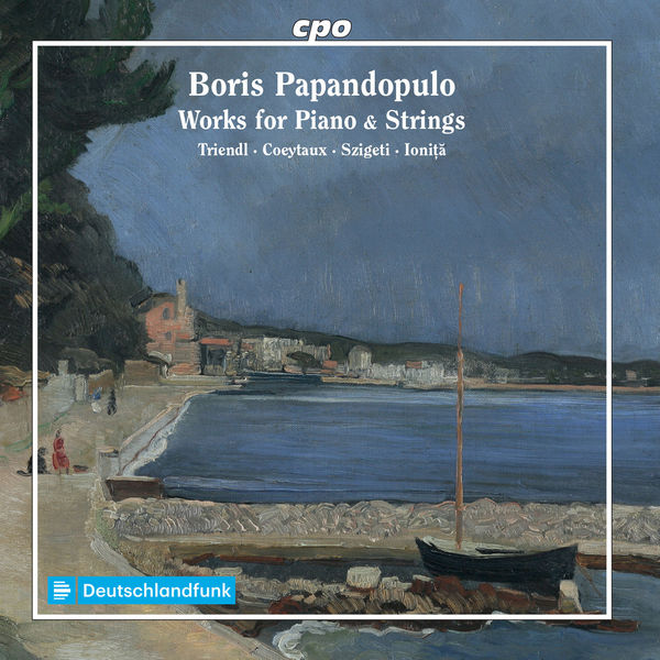 آلبوم موسیقی Papandopulo Works for Piano & Strings اثری از آندری یونیتا (Andrei Ionita)