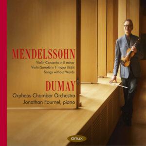 آلبوم موسیقی Mendelssohn Violin Concerto اثری از آگوستین دومای (Augustin Dumay)