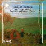 Camillo Schumann Works for Clarinet & Piano