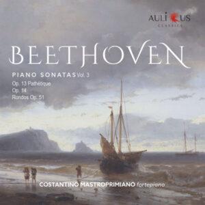 آلبوم موسیقی Beethoven Piano Sonatas Vol. 3 اثری از کوستانتینو ماستروپریمیانو (Costantino Mastroprimiano)