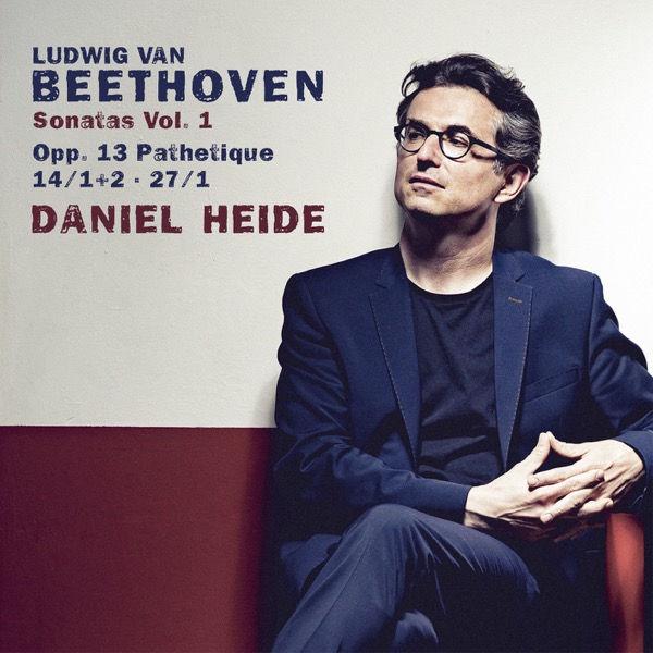آلبوم موسیقی Beethoven Sonatas Vol. 1 اثری از دانیل هاید (Daniel Heide)
