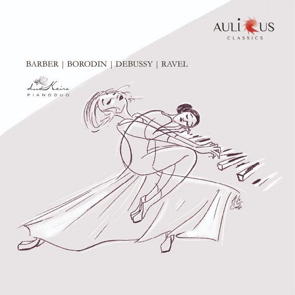 آلبوم موسیقی Barber, Borodin, Debussy, Ravel اثری از دوکیرا پیانو دو (DuoKeira Piano Duo)