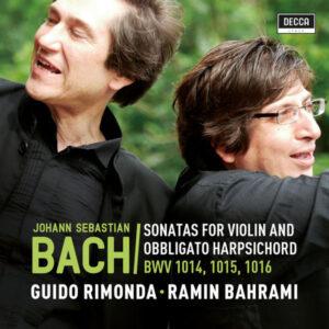 آلبوم موسیقی Sonatas for Violin and Harpsichord BWV 1014 1015 1016 اثری از گیدو ریموندا (Guido Rimonda)