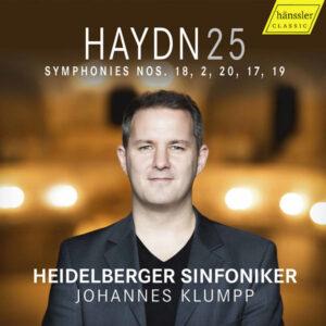آلبوم موسیقی Haydn Complete Symphonies Vol. 25 اثری از هایدلبرگر سینفونیکر (Heidelberger Sinfoniker)