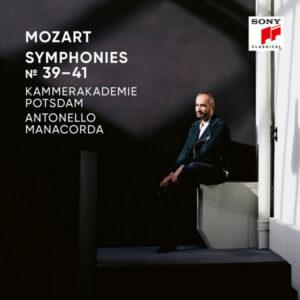 آلبوم موسیقی Mozart Symphonies Nos. 39 40 41 اثری از کمراکادمی پوتسدام (Kammerakademie Potsdam)