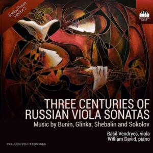 آلبوم موسیقی Three Centuries of Russian Viola Sonatas اثری از بسیل وندریس (Basil Vendryes)