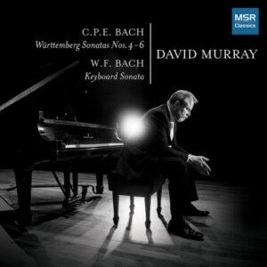 آلبوم موسیقی C.P.E. Bach Württemberg Sonatas Nos.4 6 اثری از دیوید موری (David Murray)