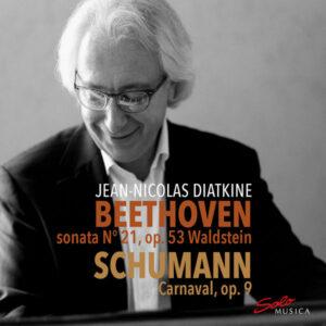 آلبوم موسیقی Beethoven & Schumann Piano Works اثری از ژان نیکولاس دیاتکین (Jean Nicolas Diatkine)