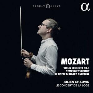 آلبوم موسیقی Mozart Violin Concerto No. 3 اثری از جولین شووین (Julien Chauvin)