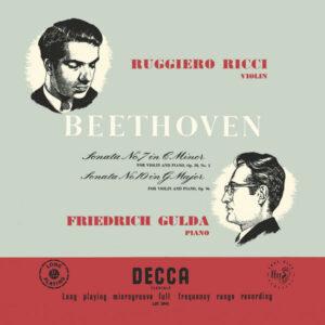 آلبوم موسیقی Beethoven Violin Sonata اثری از روجرو ریچی (Ruggiero Ricci)