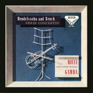 آلبوم موسیقی Mendelssohn Violin Concerto Bruch Violin Concerto No. 1 اثری از روجرو ریچی (Ruggiero Ricci)