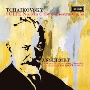 آلبوم موسیقی Tchaikovsky Suite for Orchestra اثری از روجرو ریچی (Ruggiero Ricci)