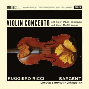 آلبوم موسیقی Tchaikovsky _ Dvorák Violin Concerto اثری از روجرو ریچی (Ruggiero Ricci)