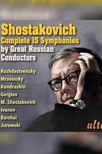 شوستاکوویچ : مجموعه سمفونی ها کامل با اجرای رهبران بزرگ روسی